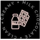 Creamy, Milk Chocolate, Clean