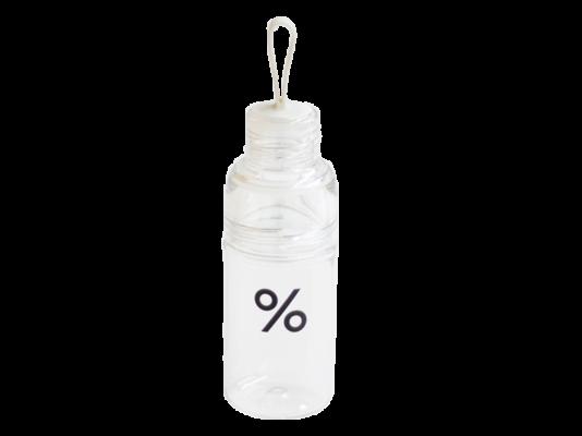 % 16oz 透明膠樽