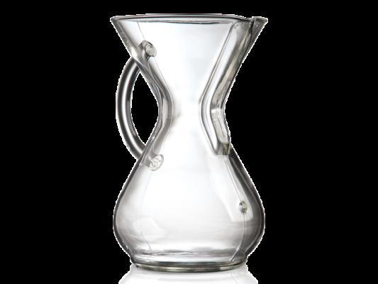 % CHEMEX® Handled 6 Cup Glass