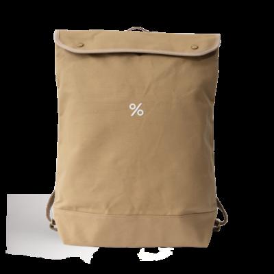 % Backpack L Beige