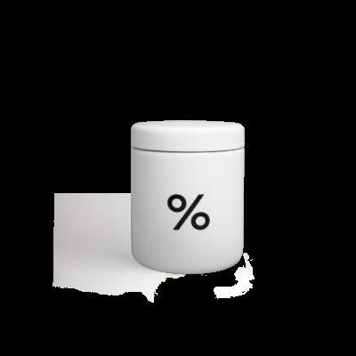 % 咖啡罐(大)